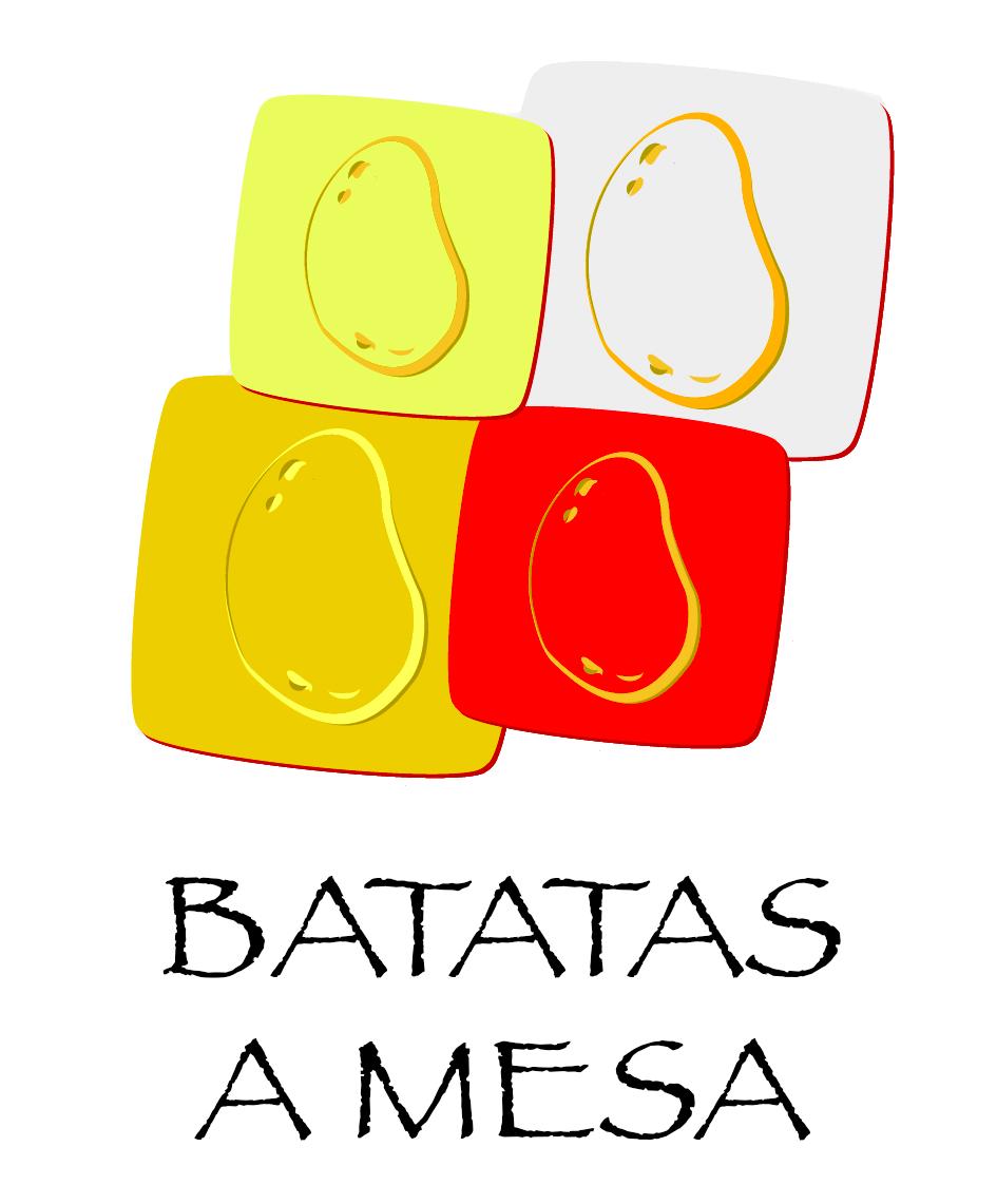 Batatas a mesa